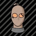 criminal, mask, thief, villain icon