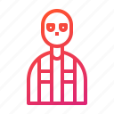 crime, character, criminal, murderer, cutthroat, murder, person icon