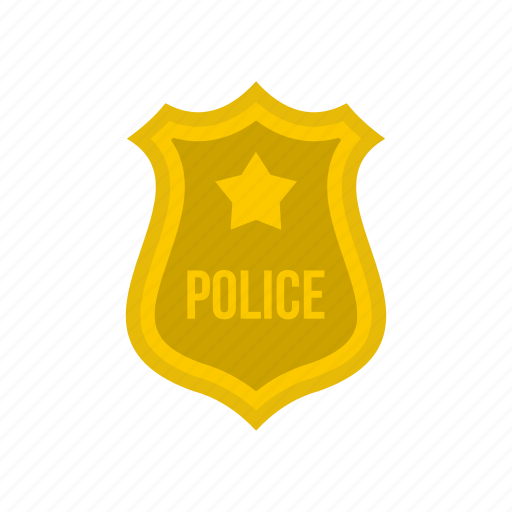 badge, justice, law, metal, police, star, western icon
