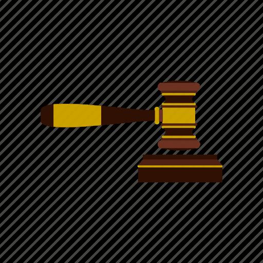 auction, decision, gavel, judges, justice, law, verdict icon