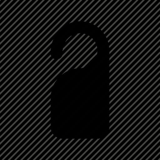 do not disturb, door hanger, door label, doorknob hanger, hotel room icon