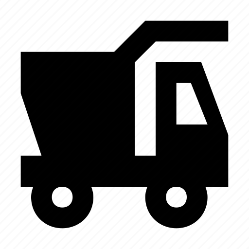 delivery van, dump truck, dump vehicle, pick up, van icon