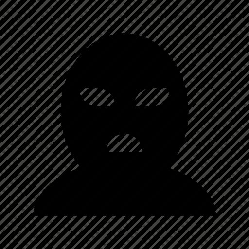 criminal, detective, robber, spy, thief icon