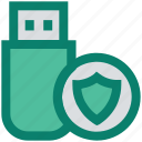 data, disk, shield, storage, usb