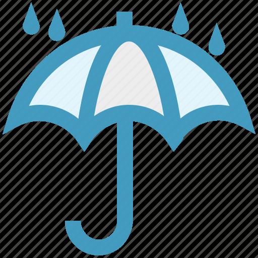 forecast, protection, rain, umbrella, weather, wet icon