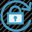 change lock, lock, security, sync, update password