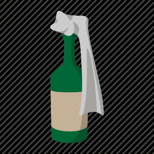 bomb, bottle, cartoon, cocktail, molotov, riot, war icon