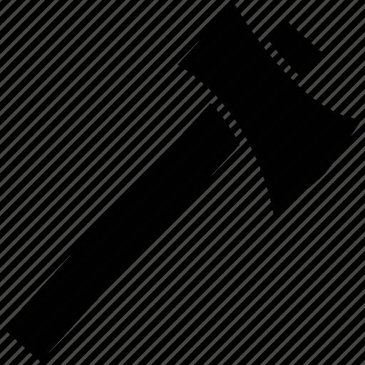axe, blade, sharp tool, tool, weapon icon