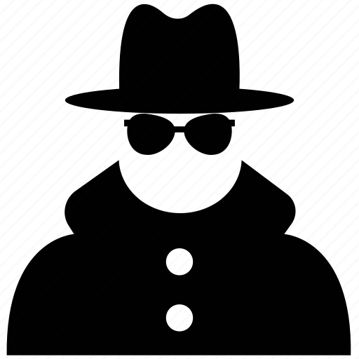 agent, criminal, gangster, killer, murderer, mysterious, robber, spy icon