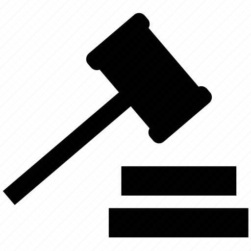 Auction, gavel, hammer, law, legal, mallet icon | Icon ...