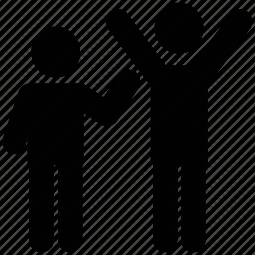 surrender hand symbols