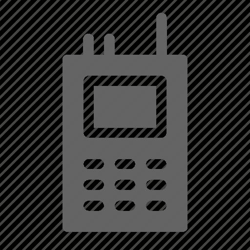radio, talkie, walkie icon