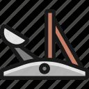 antique, catapult
