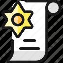 legal, certificate