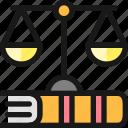 legal, scale