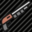 modern, weapon, shotgun