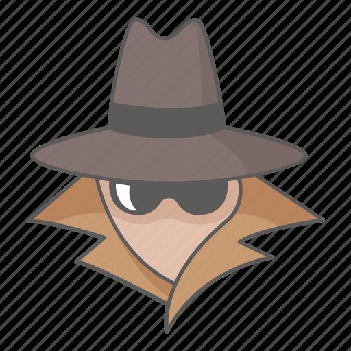 anonymous, crime, criminal, cyber, espionage, hacker, spy icon