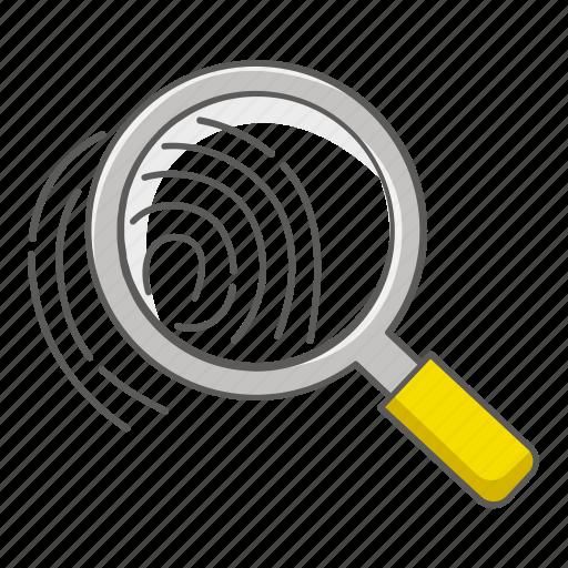 finger, fingerprint, id, identification, print, scan, thumb icon