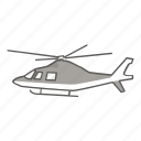 charter, civil, helicopter, police, private, rescue, tour