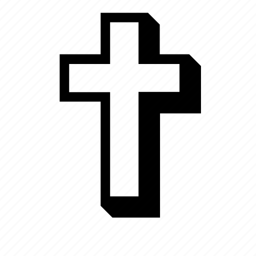 catholic, christian, cross, religion, volume icon