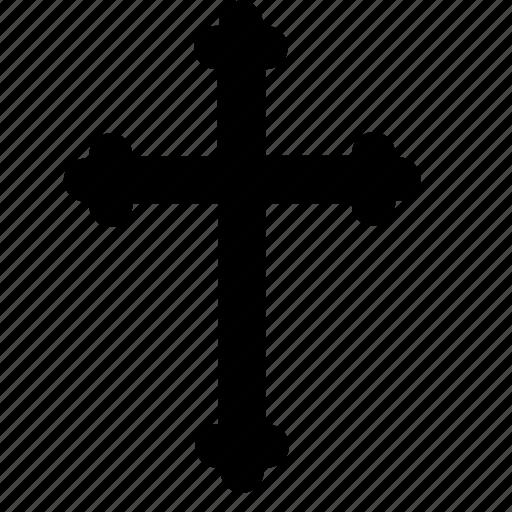 catholic, christian, cross, religion, sign, x icon