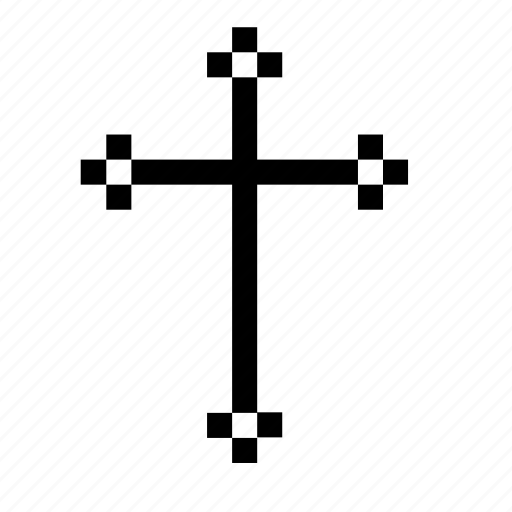 catholic, christian, cross, religion icon