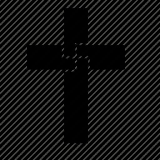 abstract, catholic, christian, cross, religion icon