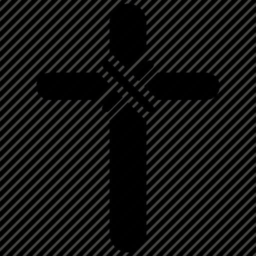 catholic, christianity symbol, cross design, cross symbol, jesus christ, peace sign icon