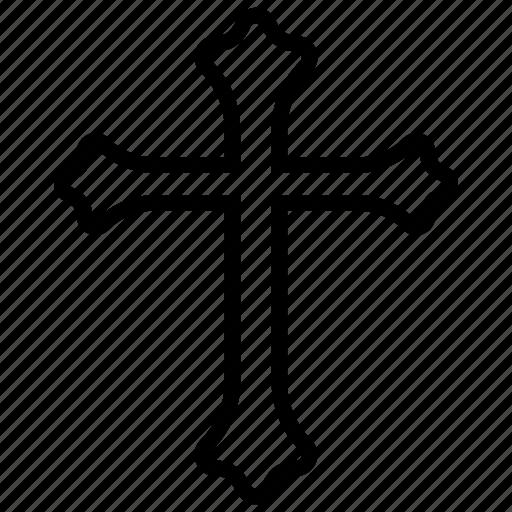 catholic, christianity symbol, cross design, jesus christ, peace sign, religion cross icon