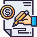 business, contract, finance, financial, money, payment, sign