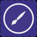 art, brush, design, draw, instrument, tool icon