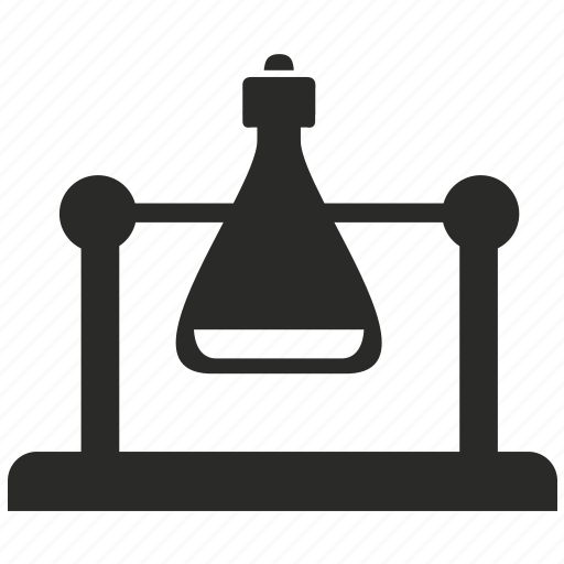 bottle, chemistry, experiment, fluid, laboratory, science icon