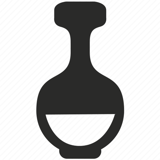 bottle, chemistry, fluid, glass, lab, science icon