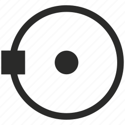 circle, curve, geometry, object, round, transform icon