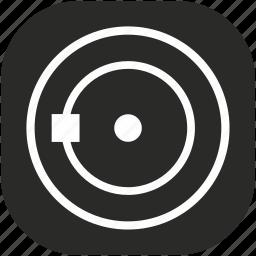 circle, curve, geometry, object, round, shape, transform icon