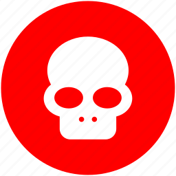 danger, dead, death, face, halloween, head, skull icon
