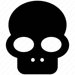 danger, dead, death, halloween, head, skeleton, skull icon