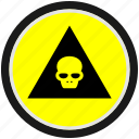 danger, dead, death, halloween, head, skull icon