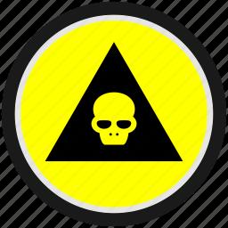 danger, dead, death, halloween, head, skull icon