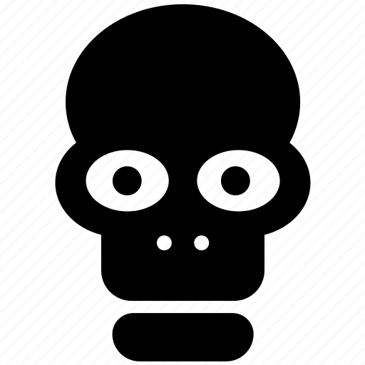 danger, dead, death, face, halloween, head, skull icon