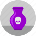 danger, dead, death, halloween, head, rip, skull icon