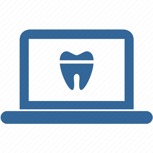 care, dental, dentist, notebook, site, stomatology, tooth icon