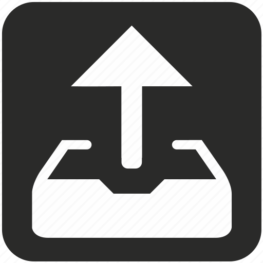doc, document, email, letter, mail, message, outbox icon