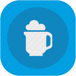 bar, beer, bocal, dishes, drink, glass, pub icon