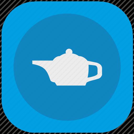 beverage, drink, pot, service, tea icon