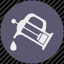 beverage, coffee, drink, drop, pot, pressure, tea icon