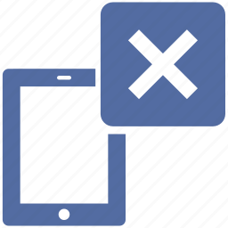 close, delete, diplay, electronic, exit, remove, tablet icon