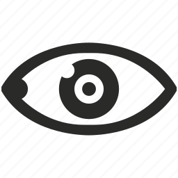 care, eye, left, search, see, view, vision icon