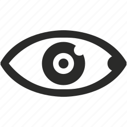 care, eye, right, search, see, vision icon