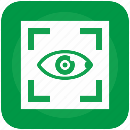 biometry, care, clinic, eye, frame, health, scanner icon